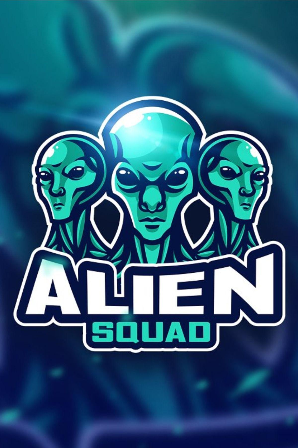 Alien green Mascot & Esport Logo in 2020 Retro logos