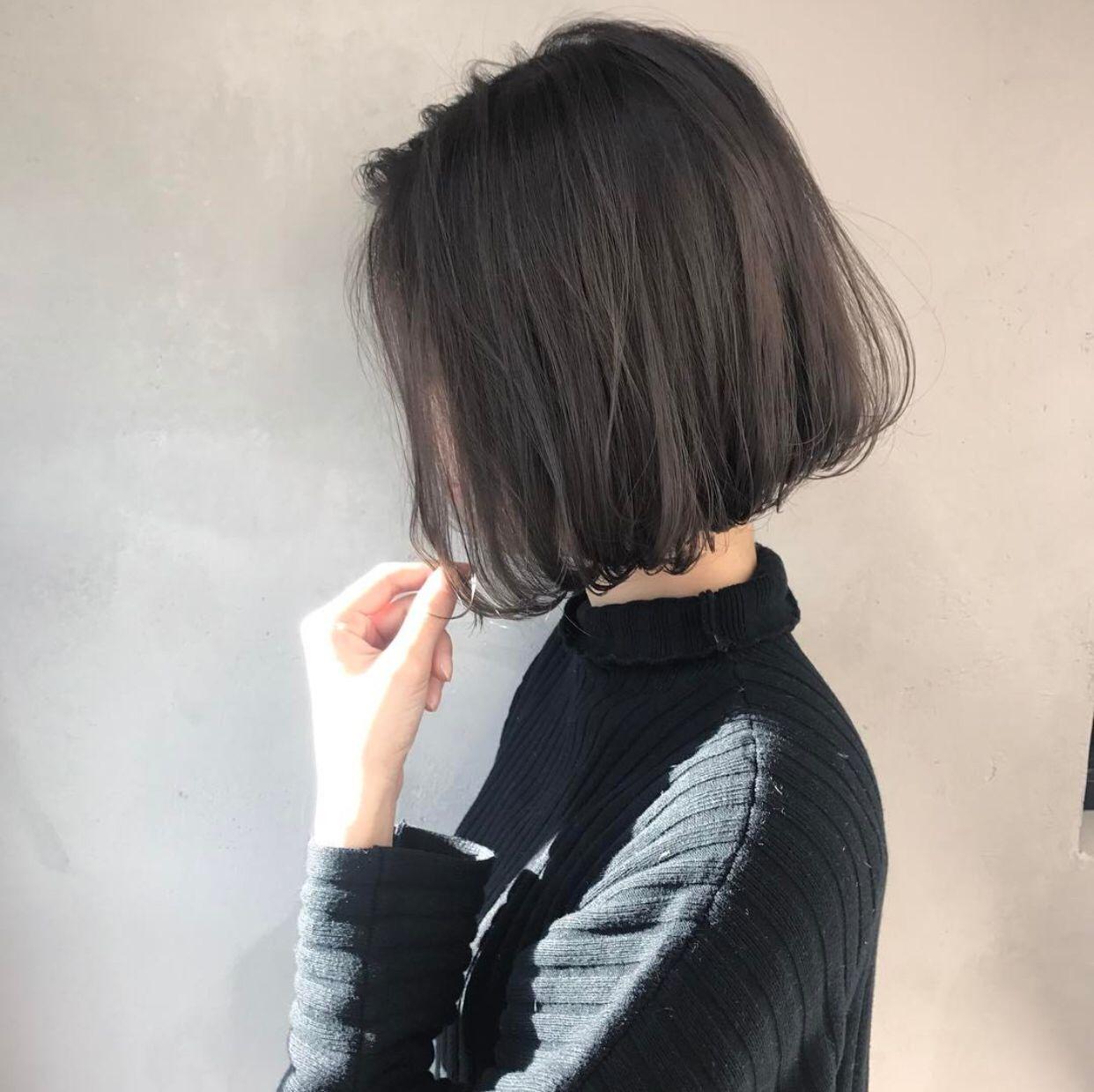Short Bob Haircut With Images Asian Short Hair Korean Short