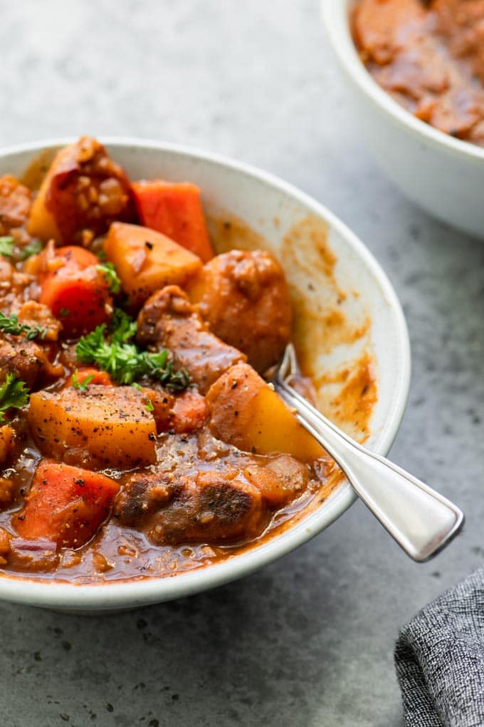 Vegan Irish Stew Opskrift