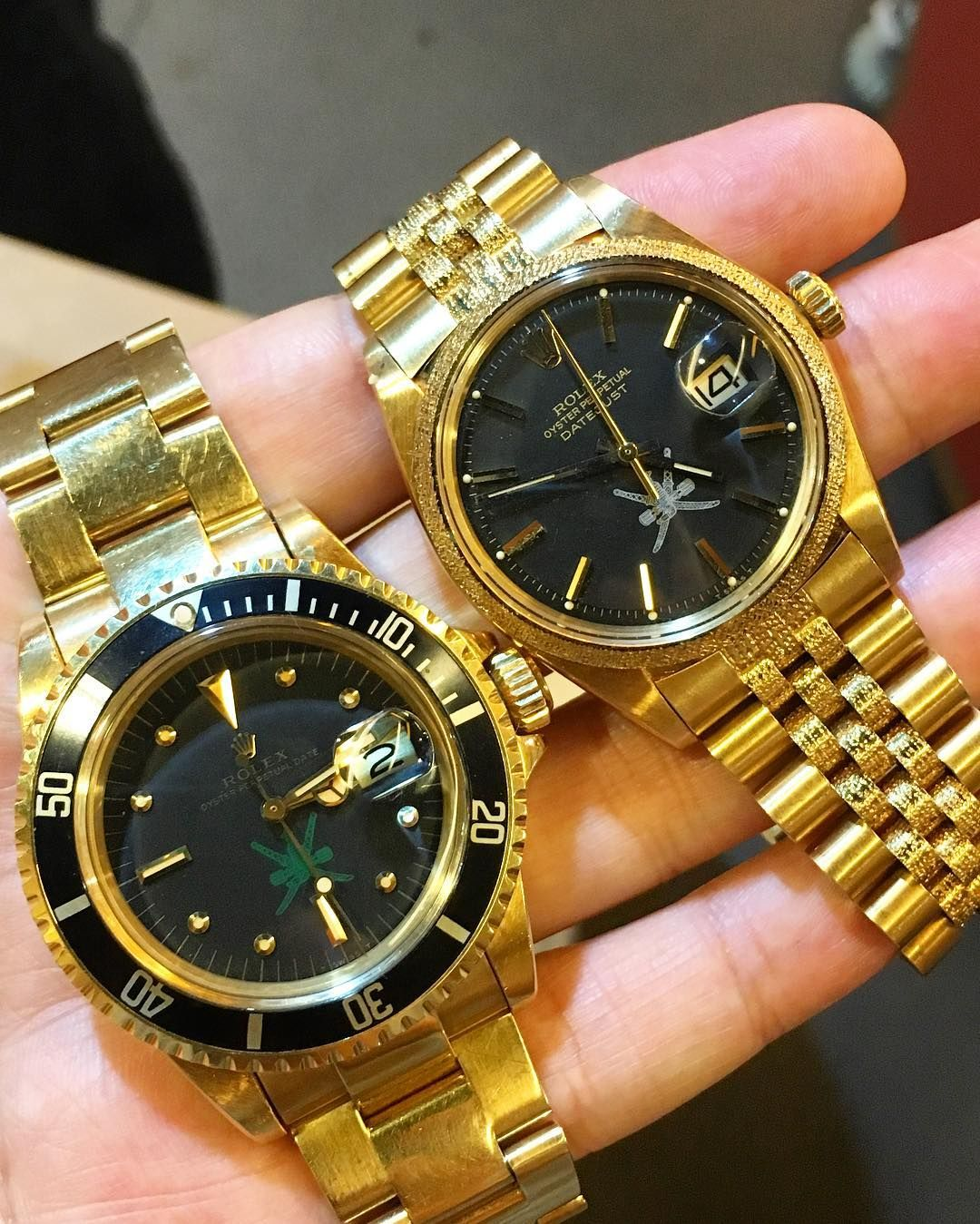 Wrist watch price in oman - A Pair Of Nice Oman Khanjar Submariner Datejust At The Hk Gtg By Jwlife37 Rolex