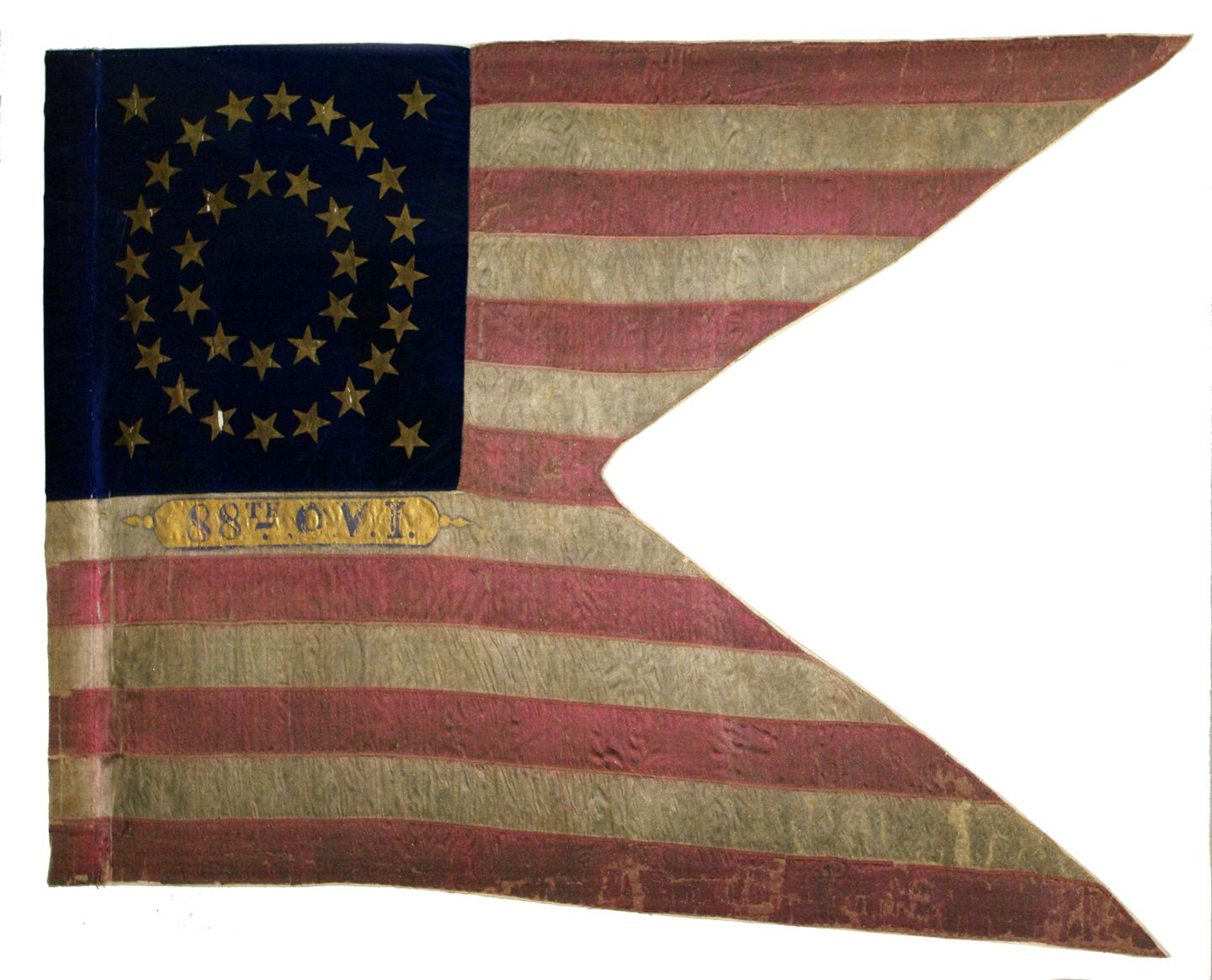 Flag Of The 88th Ohio Volunteer Infantry Civil War Flags