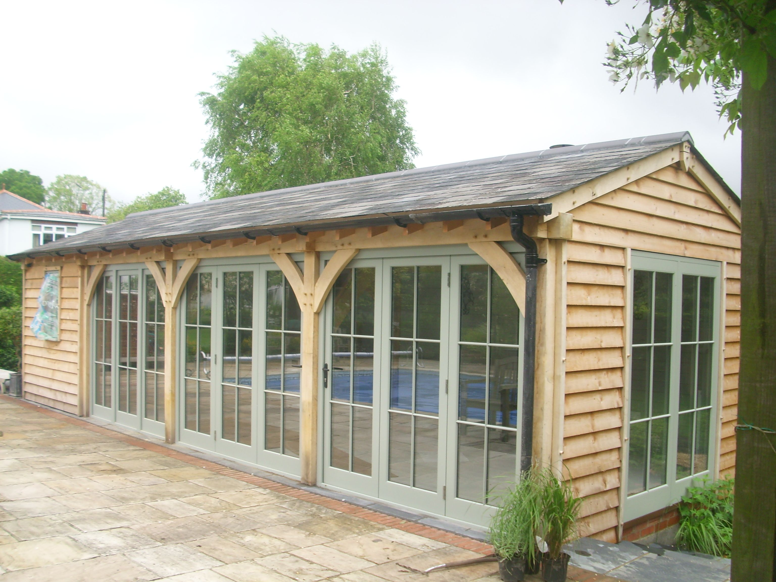 Oak Frame Garden Room/Pool House
