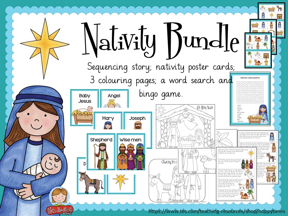 christmas nativity bundle