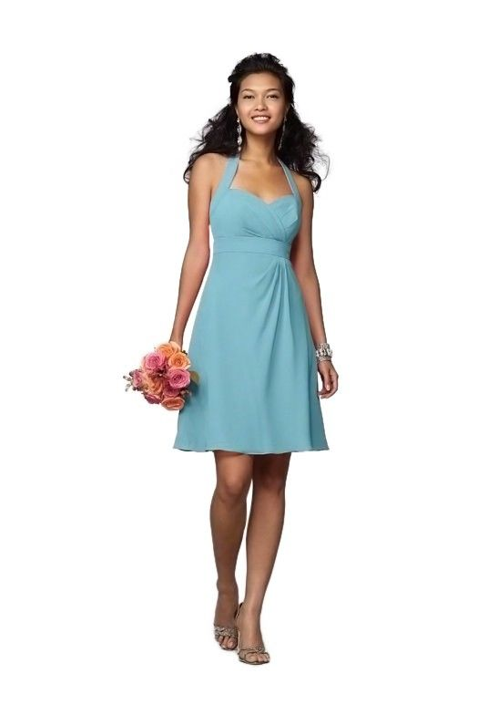Alfred Angelo Bridesmaid Dress | Weddington Way in Pool | Blue ...