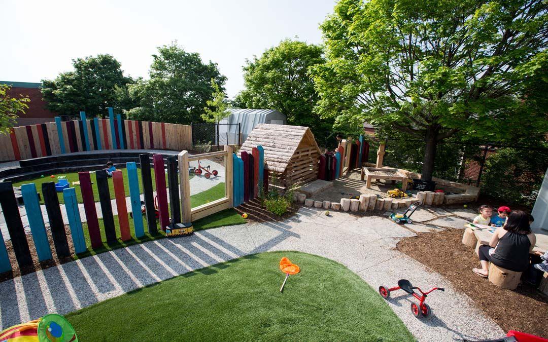Ymca Daycare Playground Oakville Ontario Natural