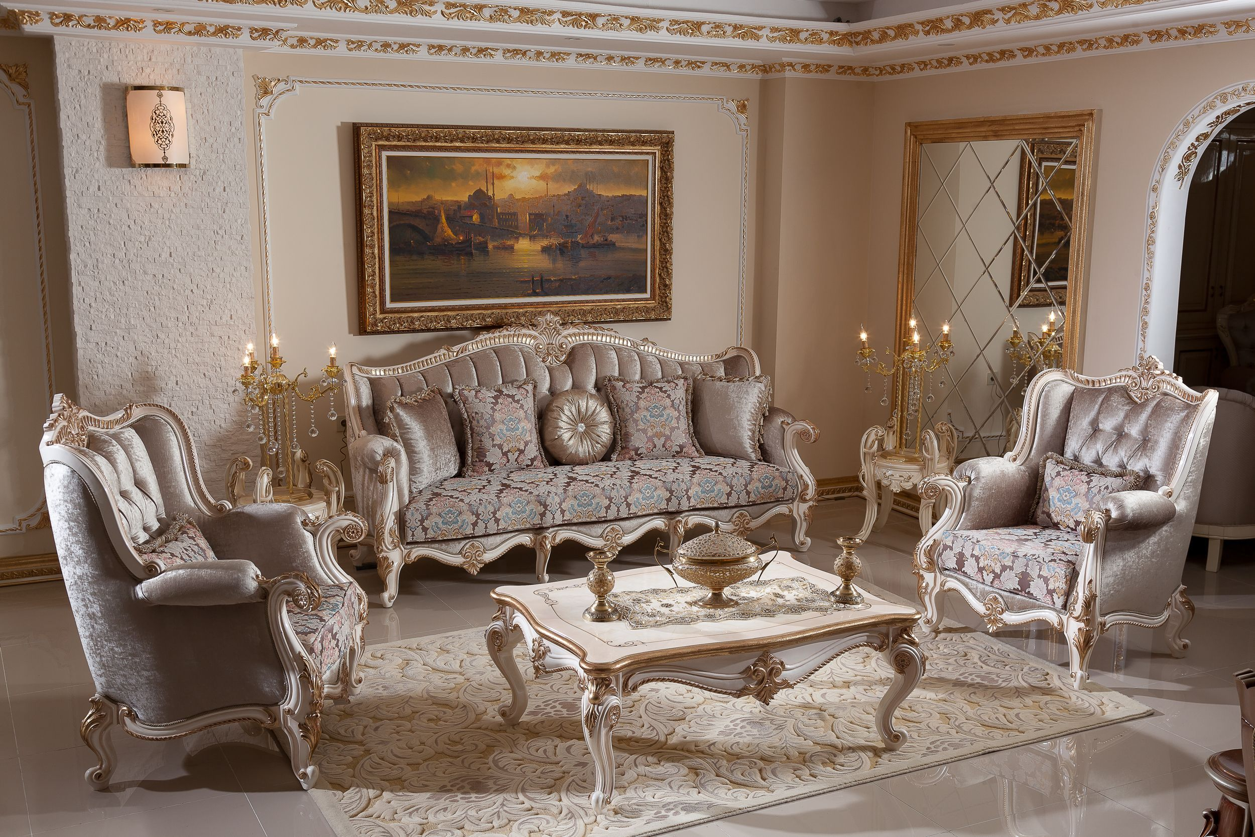 Pin By Stylish Beedroom On Meubels Classic Furniture Living Room Furniture Design Living Room Classic Sofa Sets
