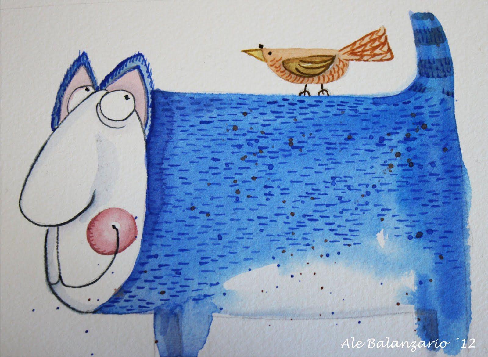 ilustración de Ale Balanzario