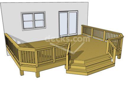 Backyard Deck Blueprints