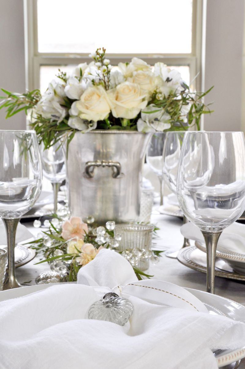 Valentine\'s Dinner Party | Linen napkins, Dinnerware and Table settings