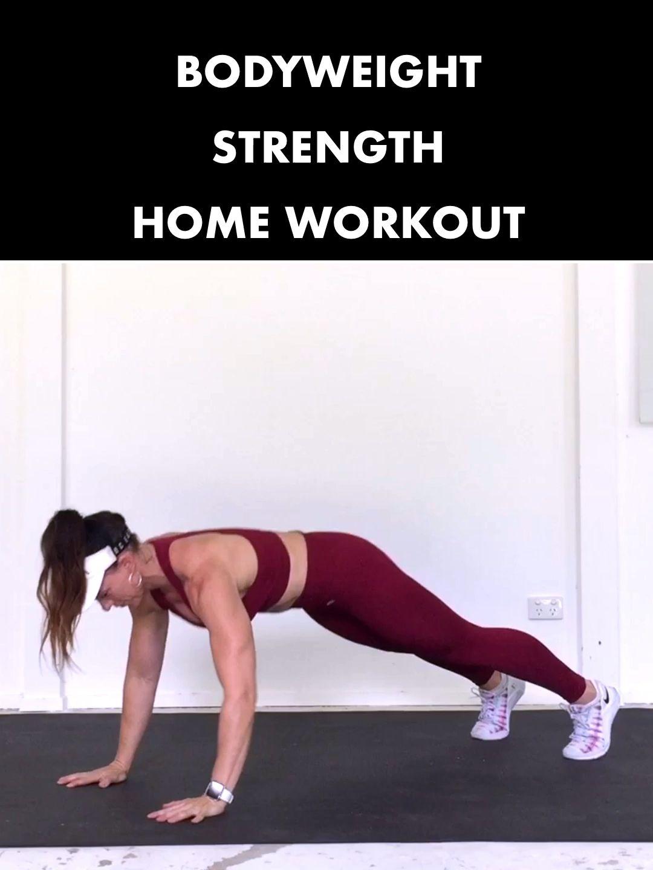 //�BODYWEIGHT STRENGTH�// Home Workout