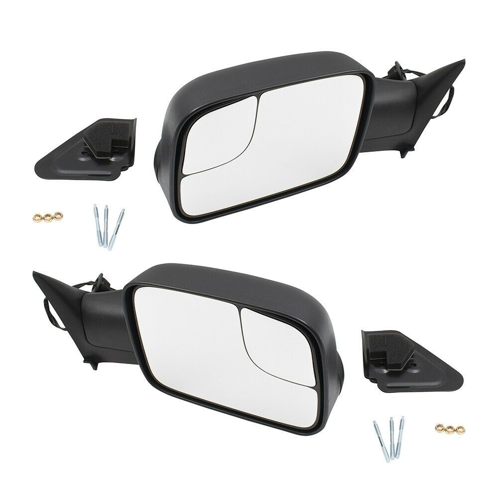 Sponsored Ebay Pair Performance Tow Mirrors For 94 97 Dodge Ram Truck Upgrade Power W Brackets Towing Mirrors Chevy Silverado Dodge Trucks Ram