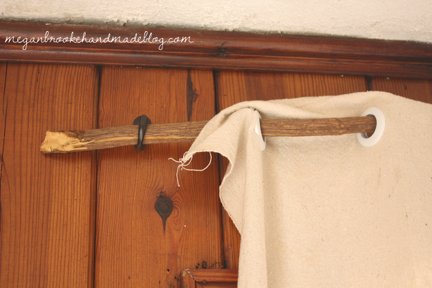 DIY Curtain Rod- Stick | For the Home | Pinterest | Diy curtain rods ...