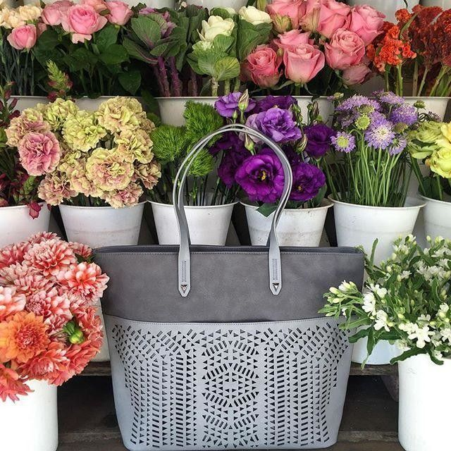 Picking up blooms for our Holiday table on a perfect San Francisco day. #sdjoy via stella&dot