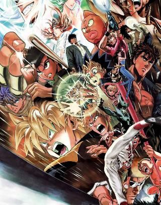 Together Shonen Jump Anime Anime Crossover Yusuke Murata