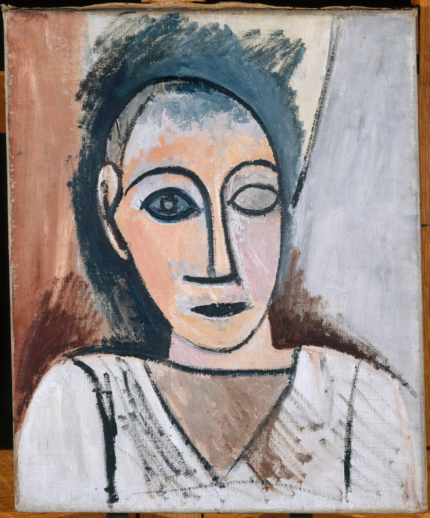 Pablo Picasso 1881–1973 Buste d homme 1907 Musée National Picasso