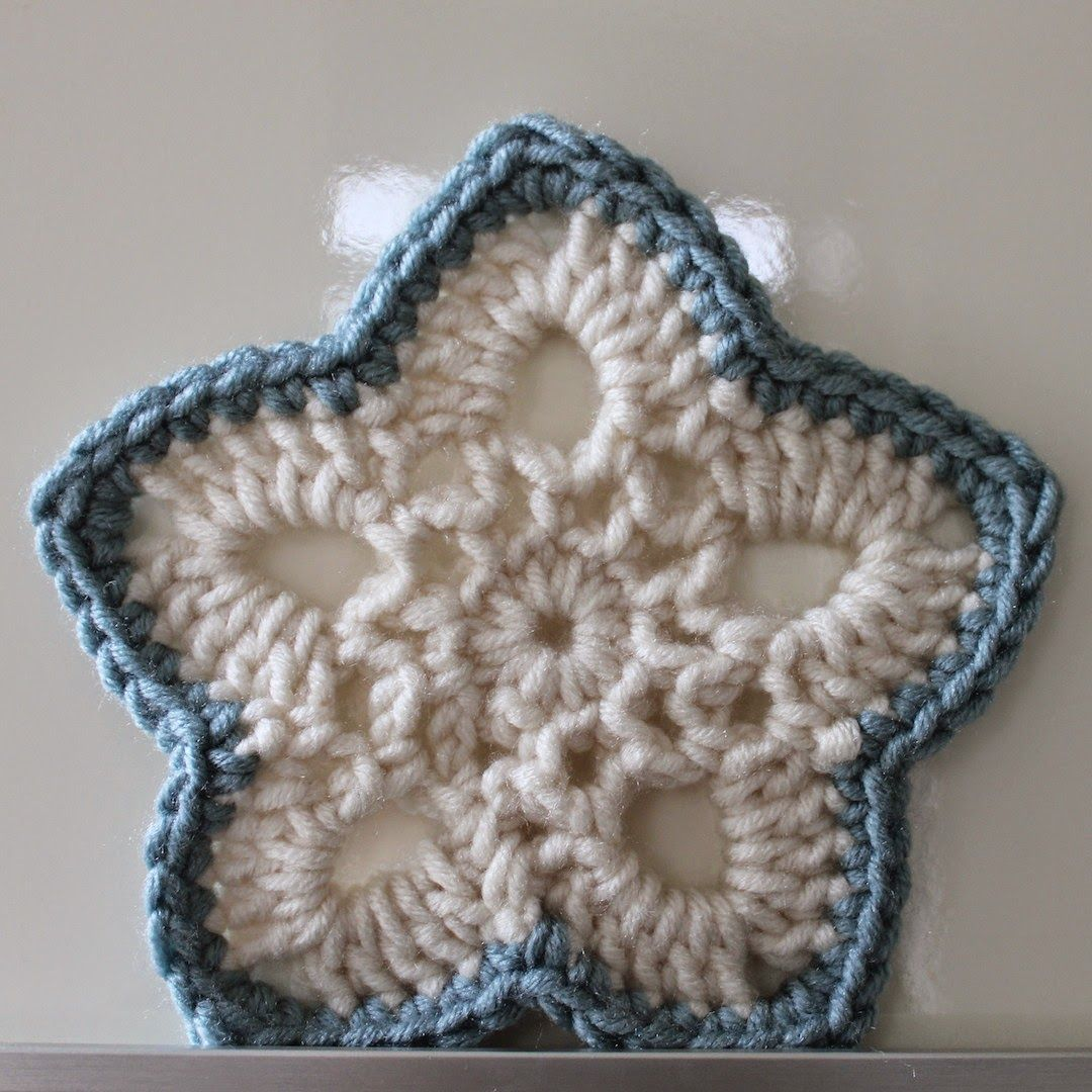 Ster haken | draadenpapier | Patroon uit Simply Crochet