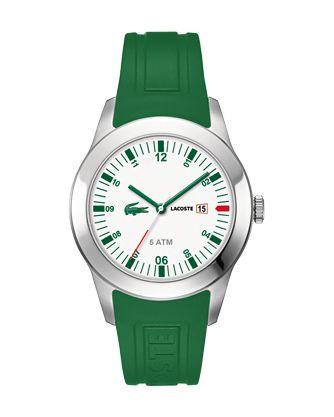 a27017196f2 Lacoste  Advantage  Silicone Strap Watch