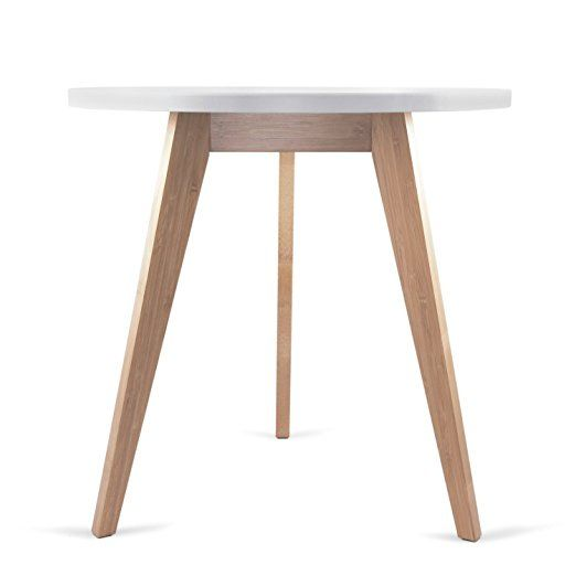 Amazon Three Legged Bamboo End Table from STNDRD &bull