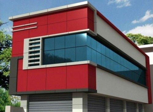 Aluminium Composite Panel Acp Sheet By Shankar Fenestration Wfm Cladding Design Facade Cladding Exterior Wall Cladding