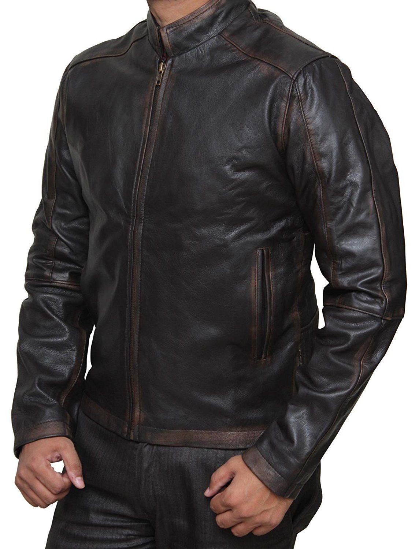 Jack Reacher 2 Men 39 S Tom Cruise Leather Jacket At Amazon Men S Clothing Store Leather Jacket Jackets Real Leather Jacket