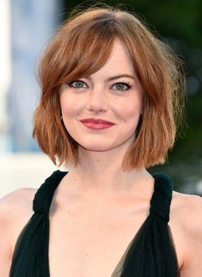 Jennifer Lawrence rundes Gesicht Frisur Malin Akerman Haarschnitt