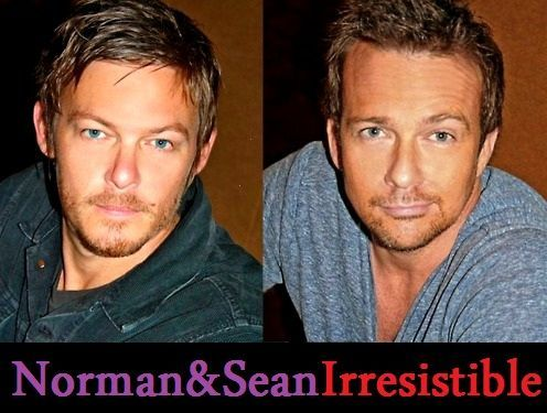 norman reedus and sean patrick flanery | Sean Patrick Flanery and Norman Reedus