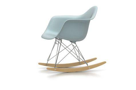 Eames Schaukelstuhl eames plastic arm rocking chair rar schaukelstuhl vitra designed by