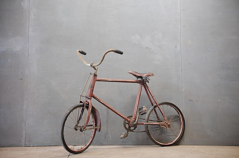 Torrington, Connecticut, USA, 1880s, A Rare Example of a Highly Sought After Eagle Bicycle Manufacturing Company Child's Bike.