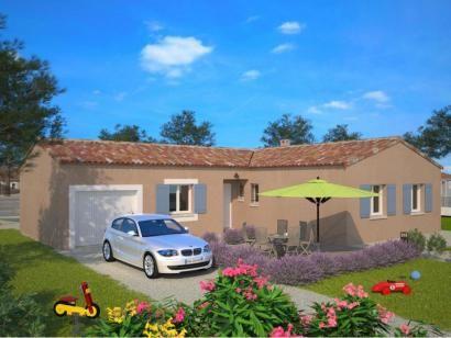 Modèle de maison Natura 90 L (LR) 3 chambres  Photo 1 Projet