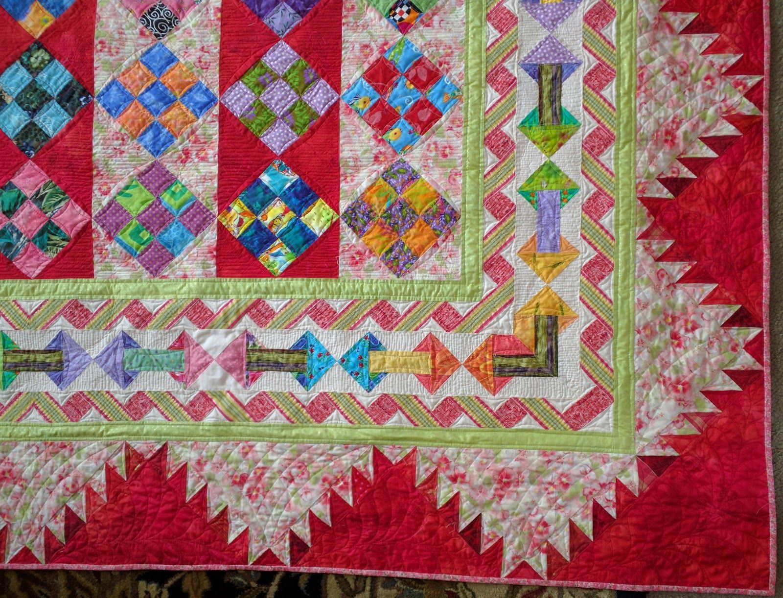 A blog about quilts, quilting, reading and travel. | Quilt ... : quilt borders pinterest - Adamdwight.com