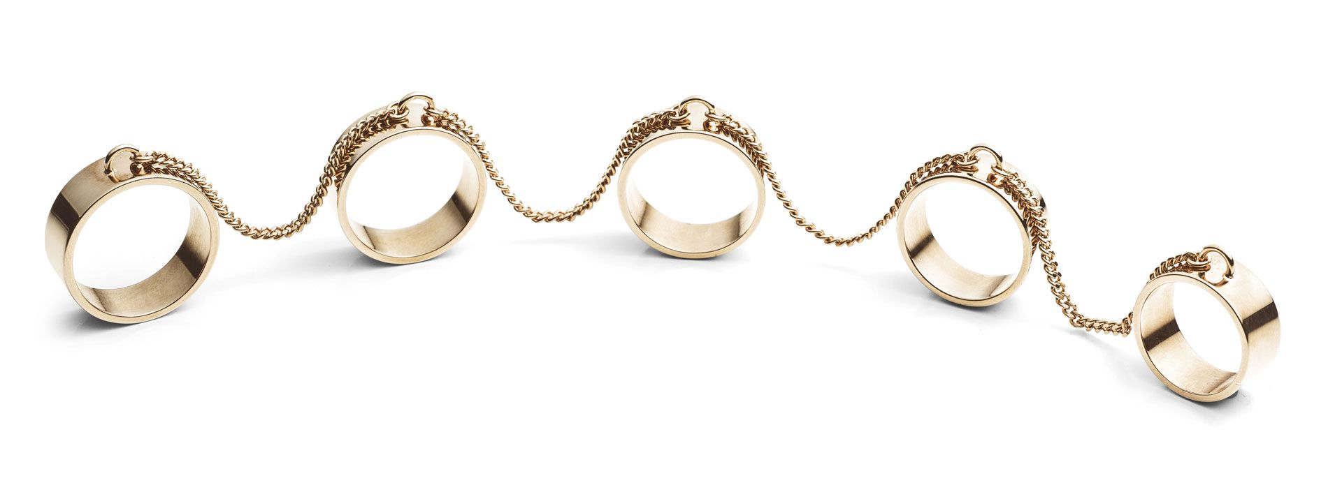 Ring Set, $300, Eddie Borgo; saks.com.   - MarieClaire.com