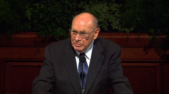 """Follow Me"""" - Joseph B. Wirthlin   General conference, Latter day saints,  Conference talks"""