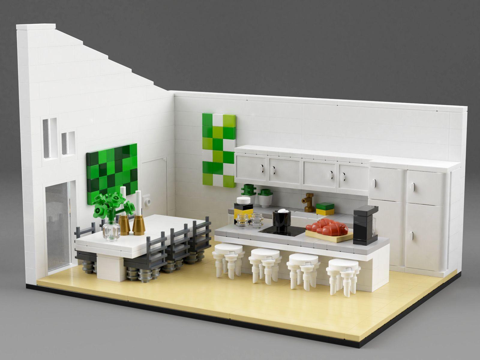 Family House Interior 内装 レゴ