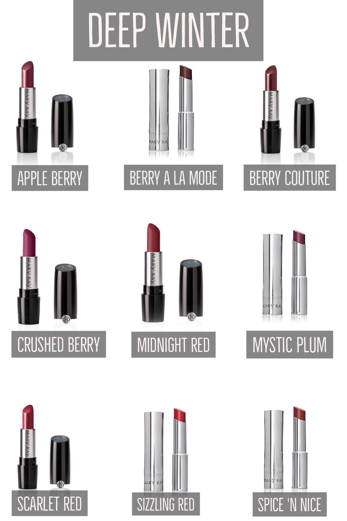 My favorite winter lipsticks
