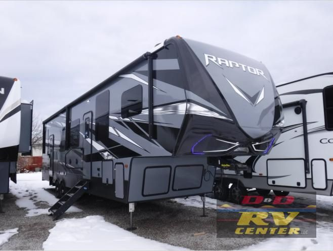 New 2020 Keystone Rv Raptor 351 Toy Hauler Fifth Wheel At D D Rv