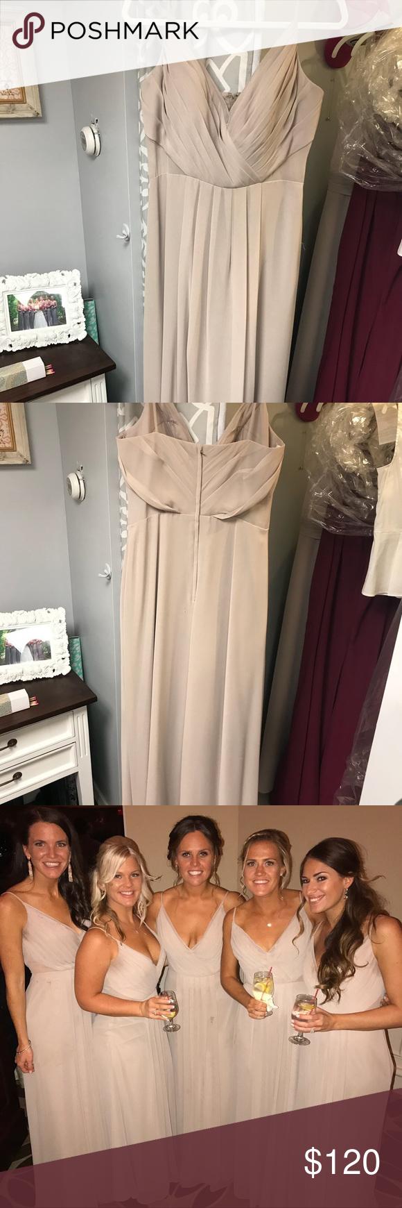 Bari jay bridesmaids dress style my posh closet pinterest