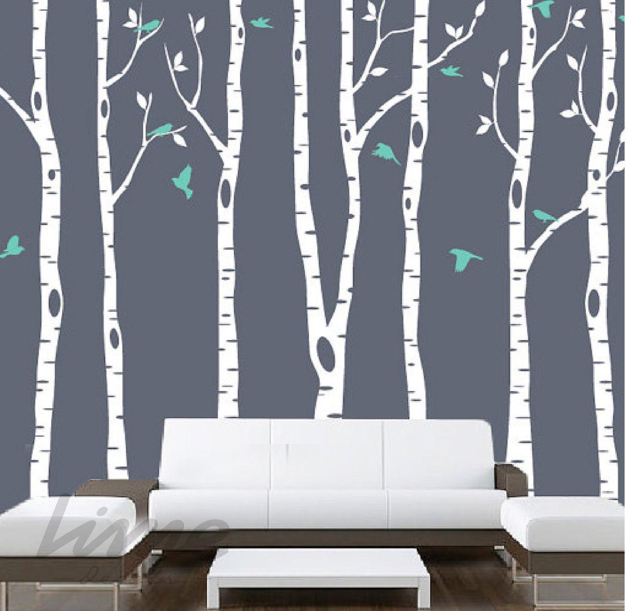 Birch Tree Wall Decal