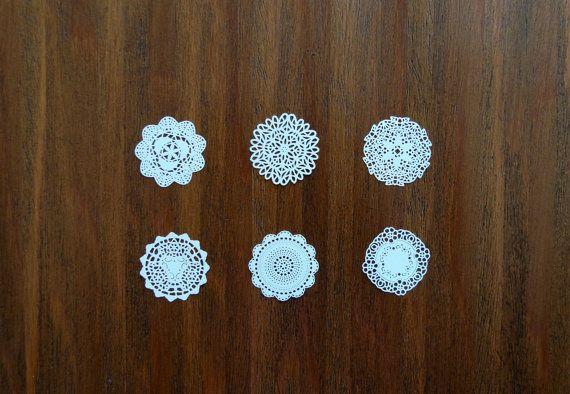 Tischsets Miniatur Puppenhaus Maßstab 01:12 von von MadeInEven