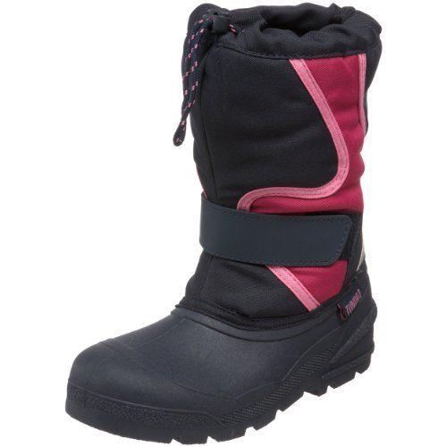 hienoja tarjouksia 2017 ostaa halpaa uudet tyylit Tundra Wave Boot (Little Kid/Big Kid),Navy/Fushia,4 M US Big ...