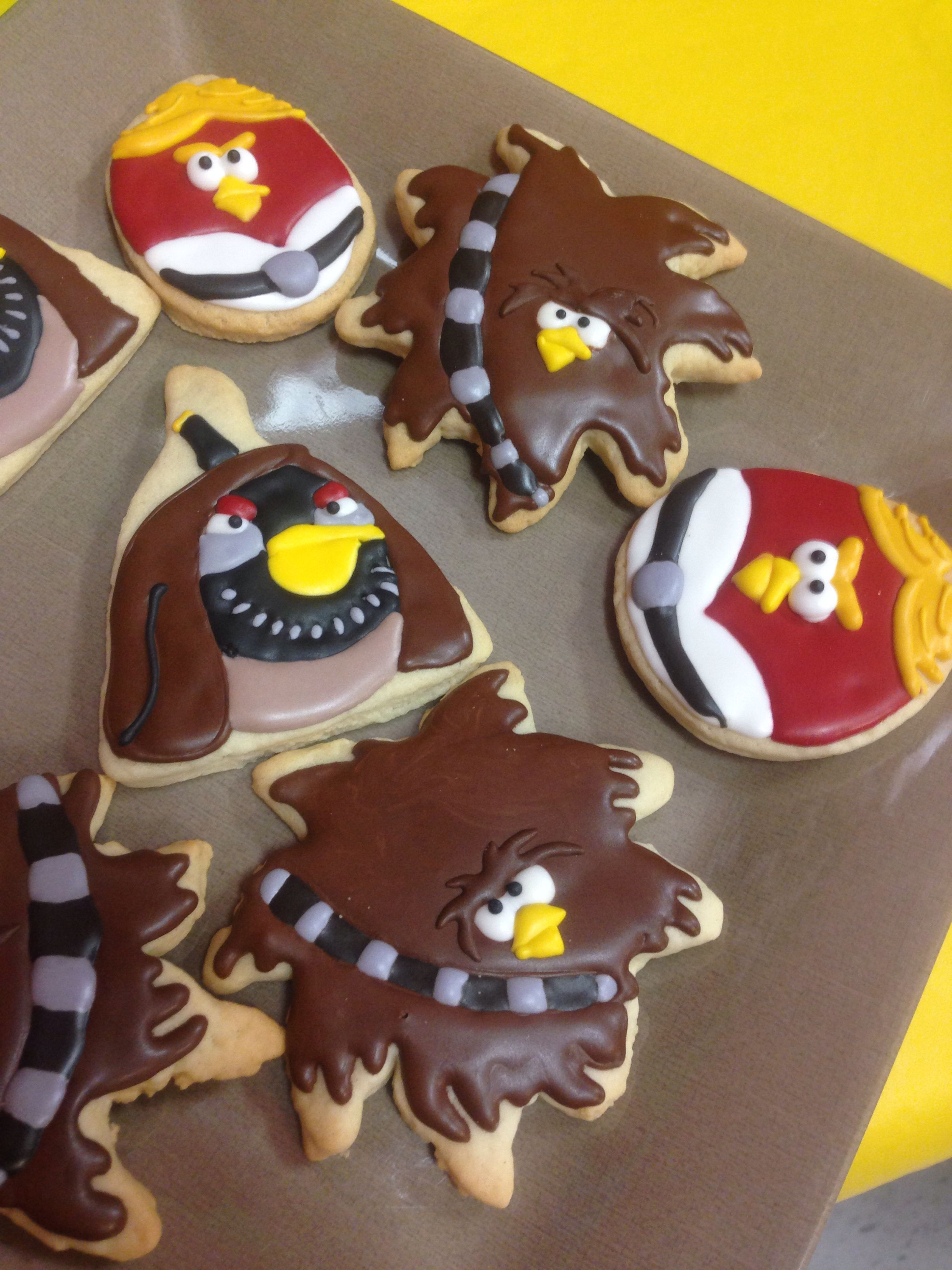 Angry Birds Star Wars Cookies