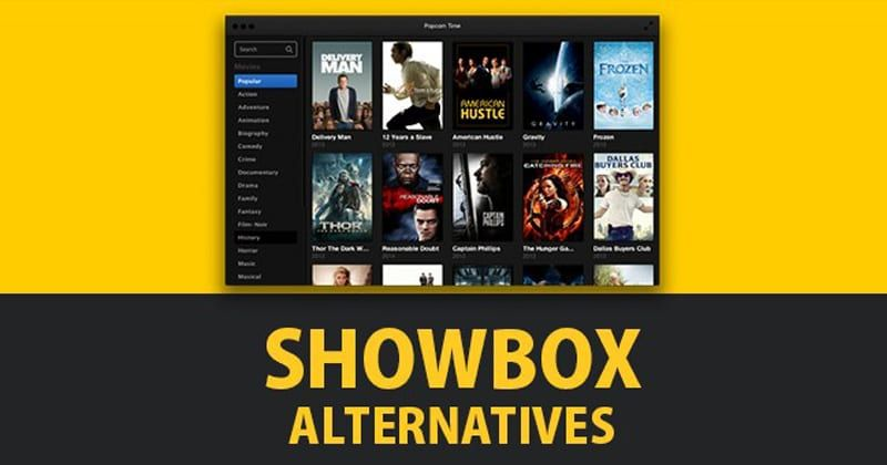 These are the best showbox alternatives 2019. These are
