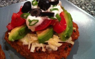 Turkey Taco Burgers - Low Carb