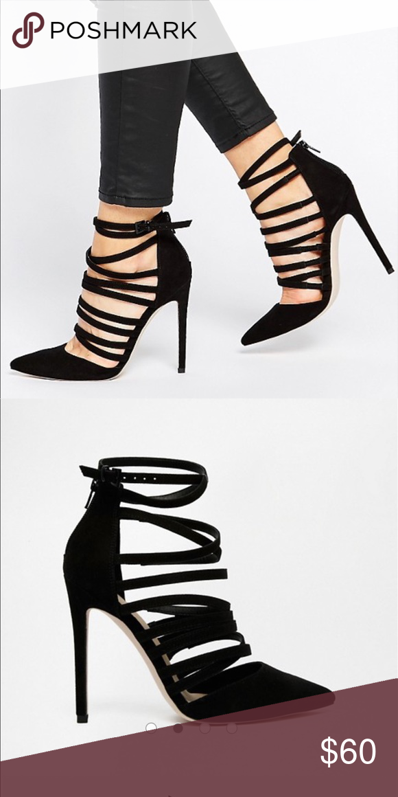 4b02565dab3 Asos Shoes | Asos Promote High Heels | Color: Black | Size: 6 | My ...