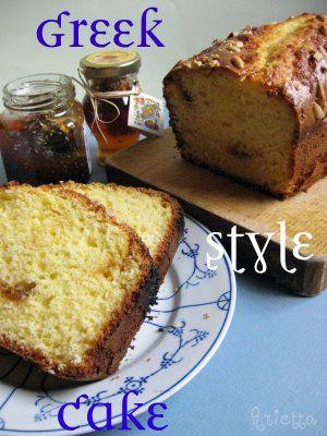 Greek style cake senza burro