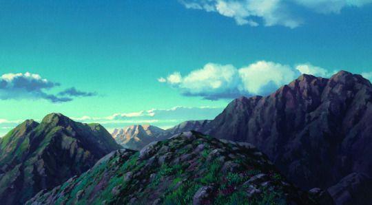 Studio Ghibli: Howl's Moving Castle, backgrounds