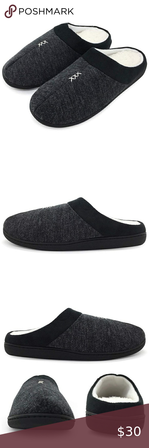 Mens Cashmere House Slippers in 2020