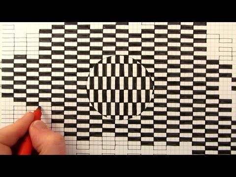 Learn how to draw a moving optical illusion with this amazing trick art. Watch Next: Optical illusions Playlist: http://bit.ly/1IJZr2a Subscribe http://www.y...