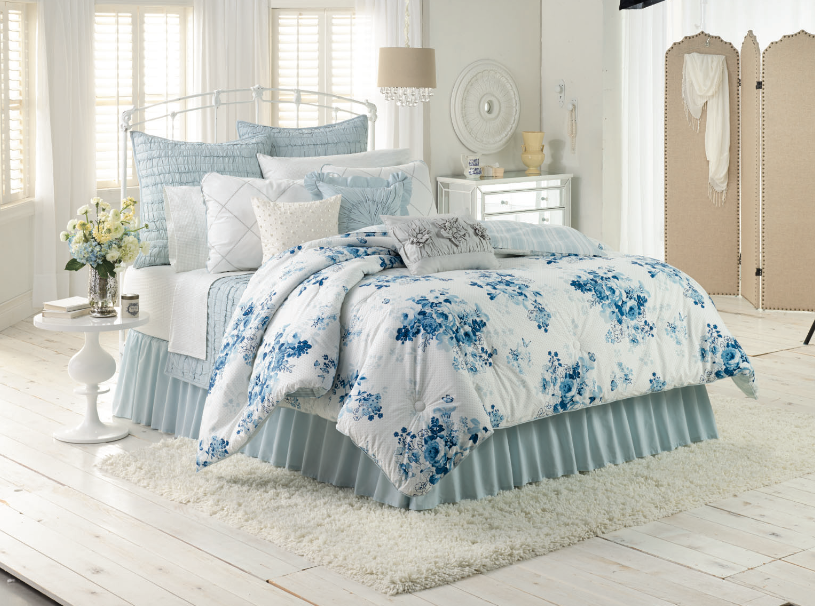 Lc Lauren Conrad For Kohl S Forget Me Not Bedding Set House Home