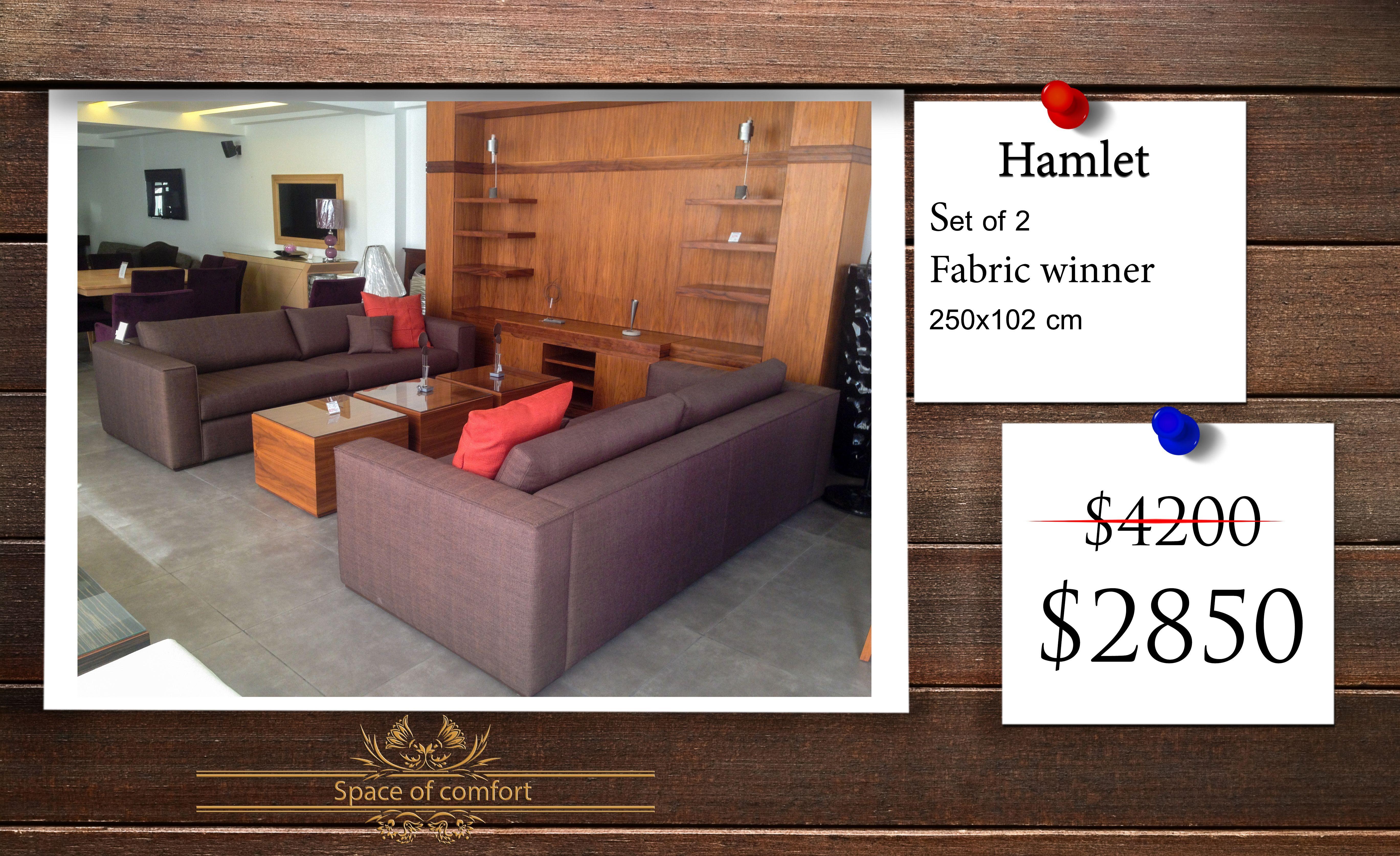 Model Hamlet Furniture Type Sofa Set 2 Sofas Demensions 250x102cm Material Fabric Winner Price Was 4200 Now 2850 Sofa Sofa Set Furniture
