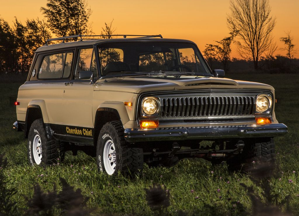 1976-78 Jeep Cherokee Chief Maintenance/restoration of old/vintage